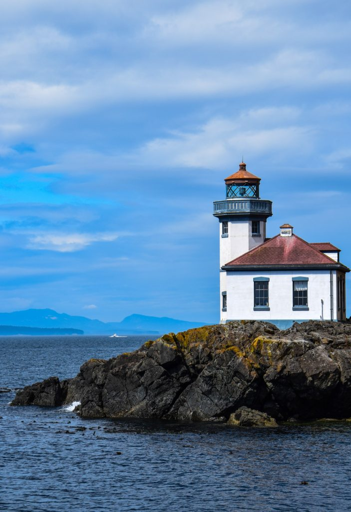 Lime Kiln Light House San Juan Island Washington