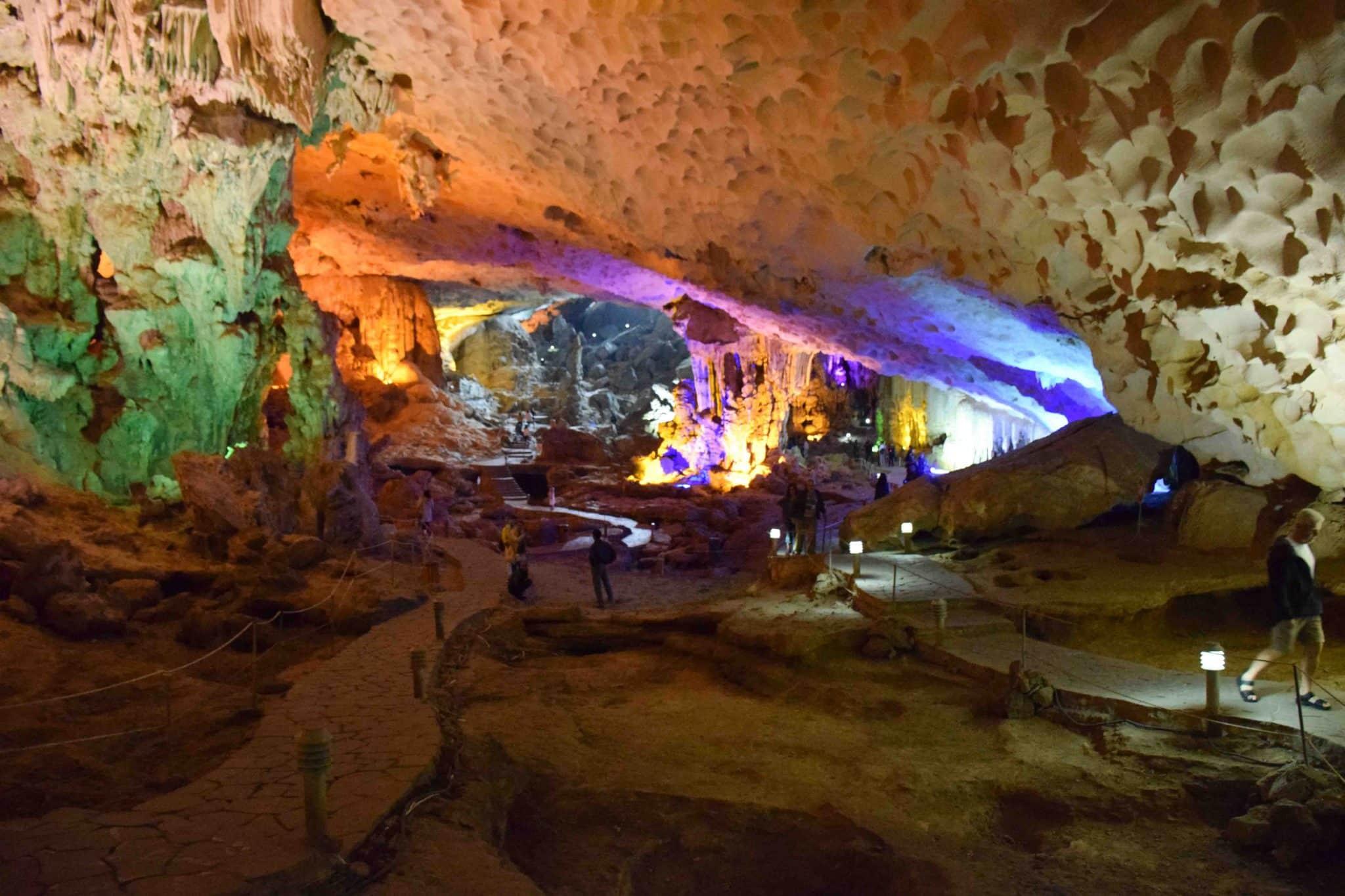 Hang Sung Sot Cave Halong Bay Vietnam