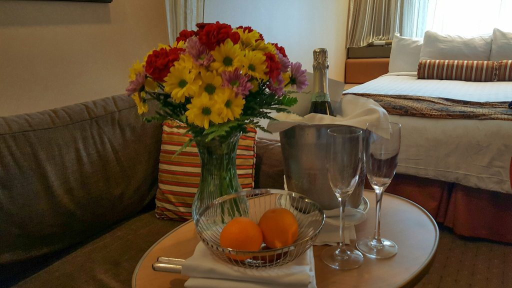 Holland America Welcome Amenity