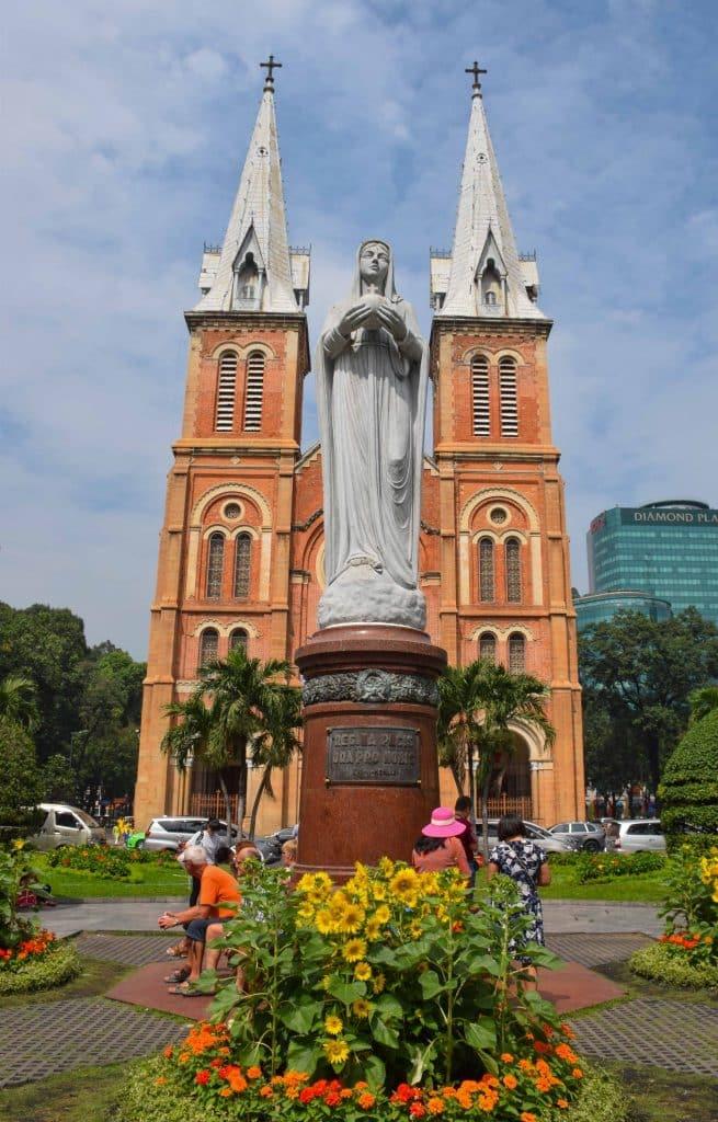 Notre Dame Cathedral Saigon Vietnam