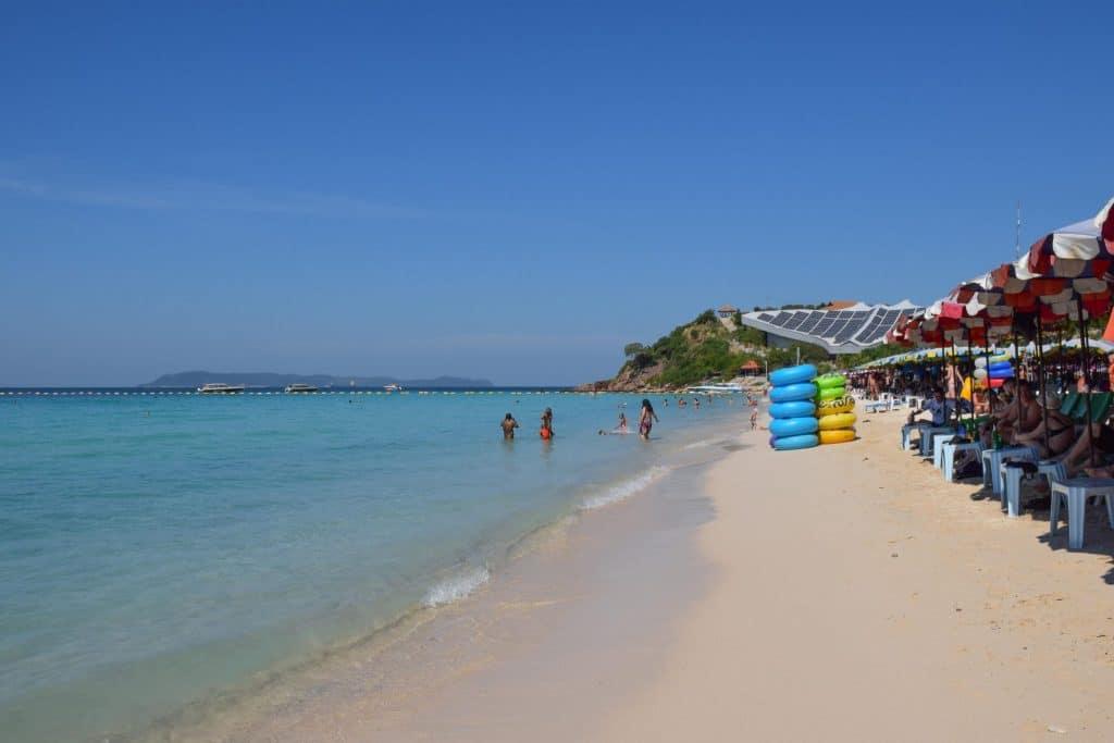 Samae Beach Koh Larn Thailand