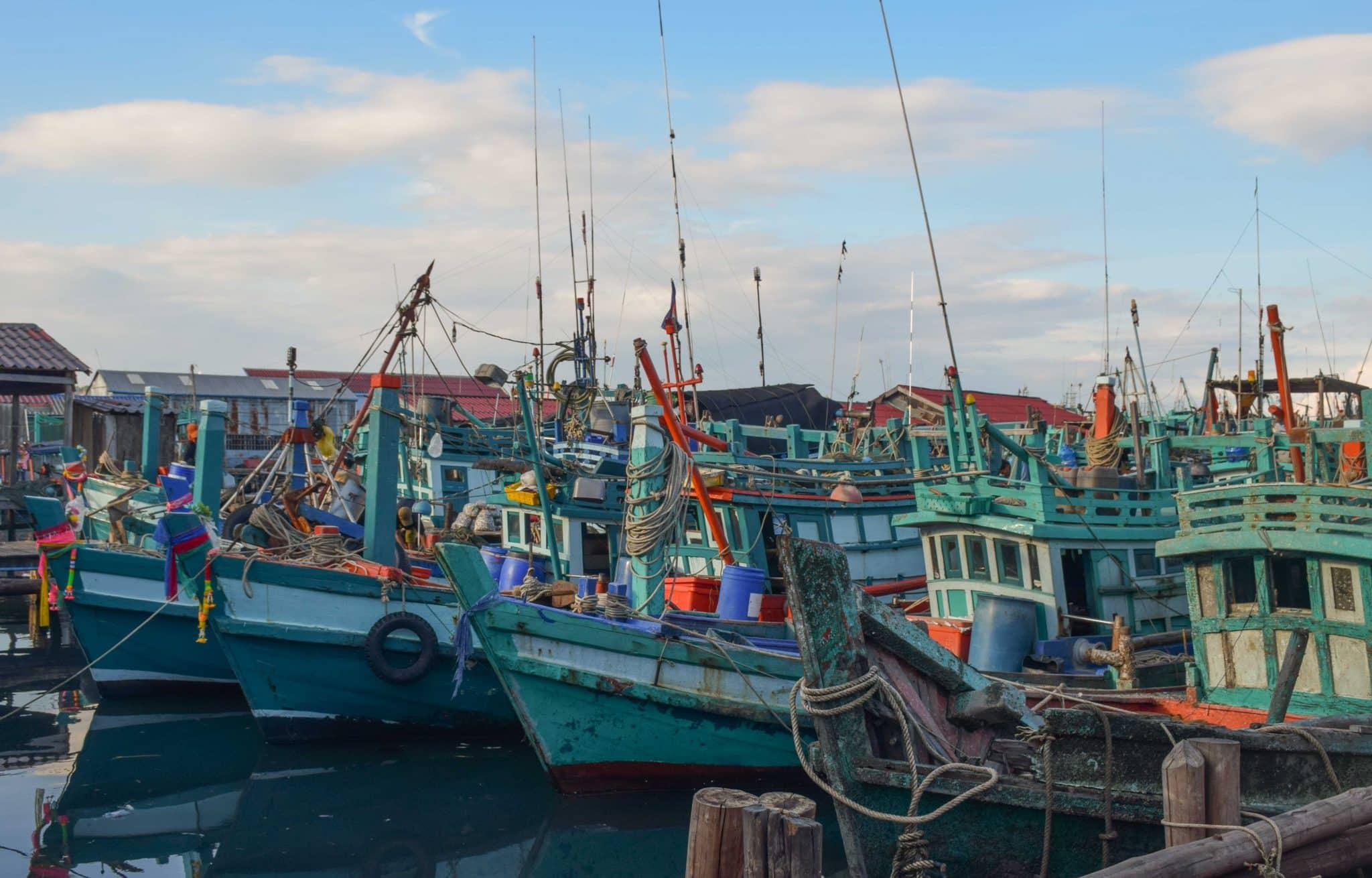 Sihanoukville Cambodia Fishing VIllage