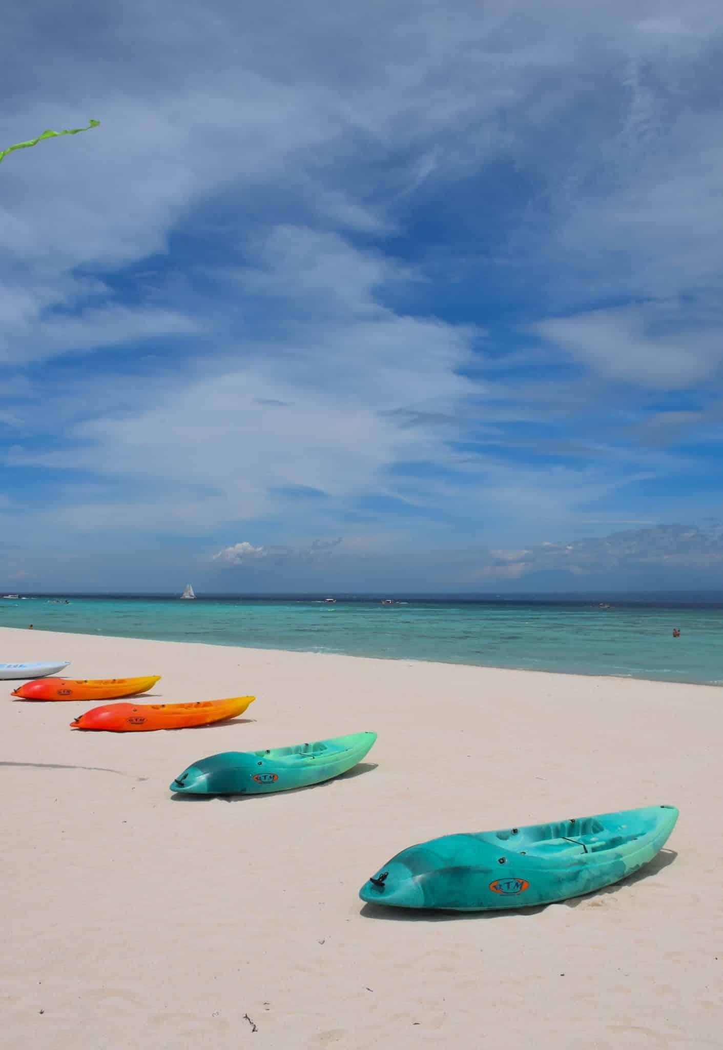 Beach Kayaks Nusa Lembongan Bali