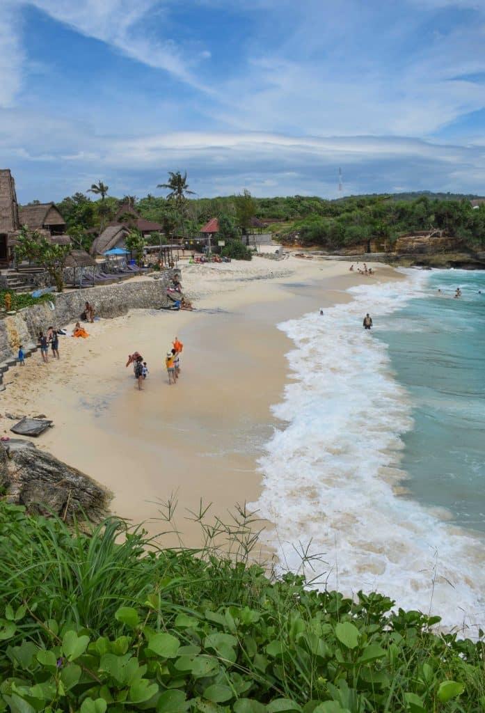 Dream Beach Nusa Lembongan Bali Indonesia