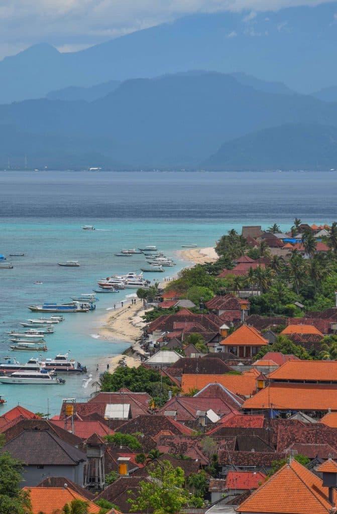 Jungut Batu Beach Nusa Lembongan Bali Indonesia