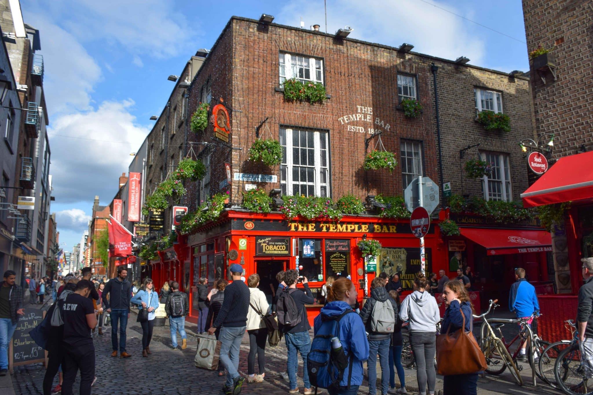 Temple Bar Pub Dublin Ireland