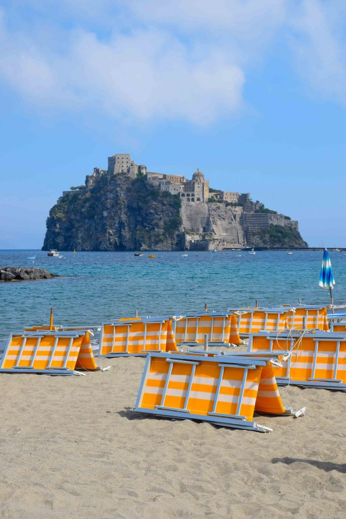 Fishermans Beach Ischia Italy