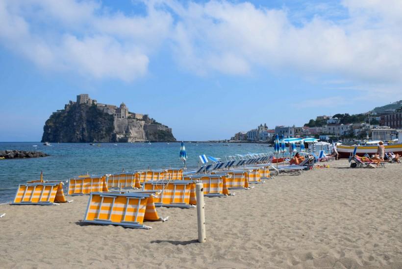 Ischia Italy Castello Aragonese