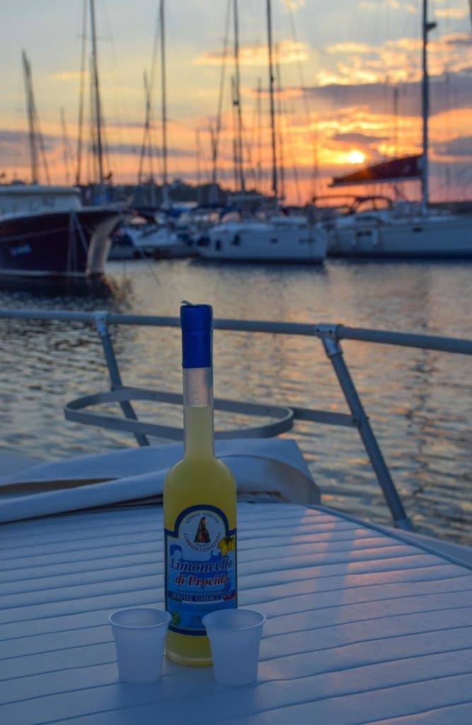 Limoncello Sunset Procida Italy
