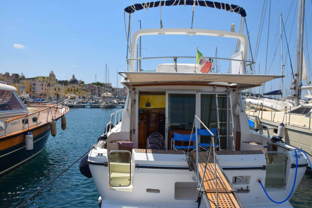 Malbicas Boat Procida Italy