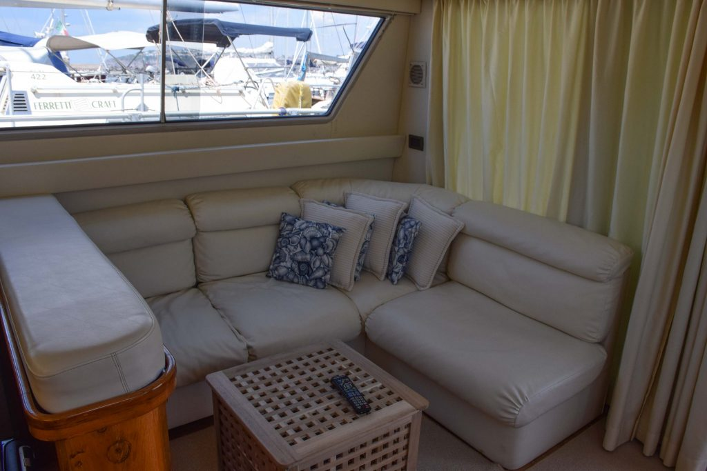 Malbicas Boat Salon Procida Italy