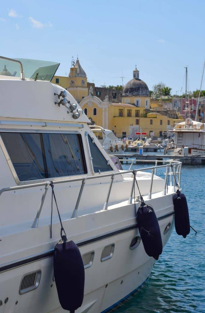 Marina Grande Procida Italy Boat