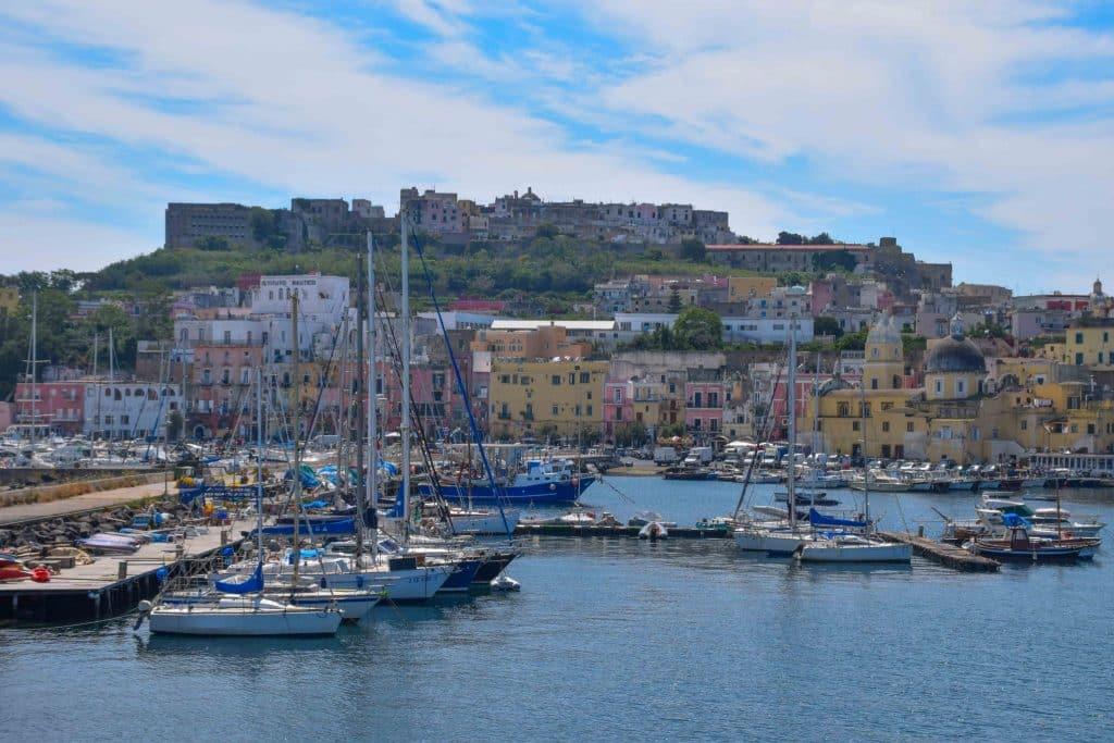 Marina Grande Procida Italy