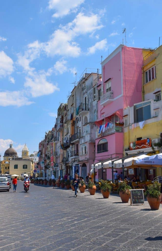 Streets Procida Italy