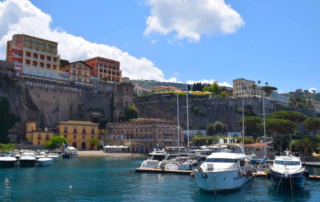 Marina Piccola Sorrento Italy