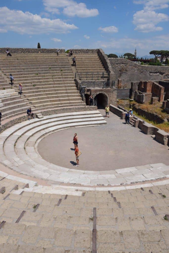 Pompeii Theater Italy