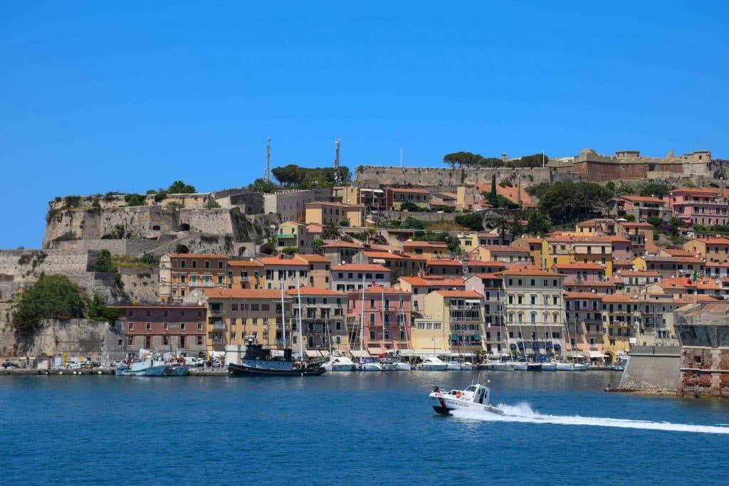 Portoferraio Elba Island Italy