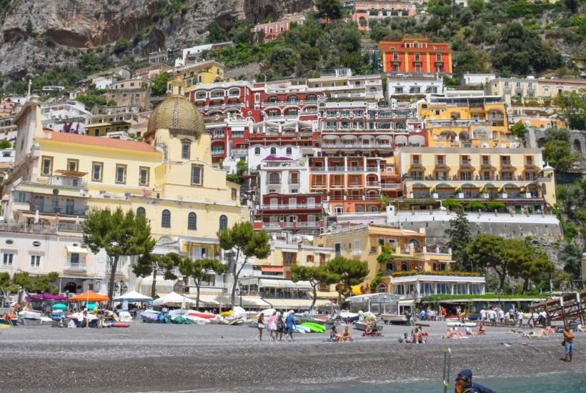 Positano Boat Amalfi Coast Italy