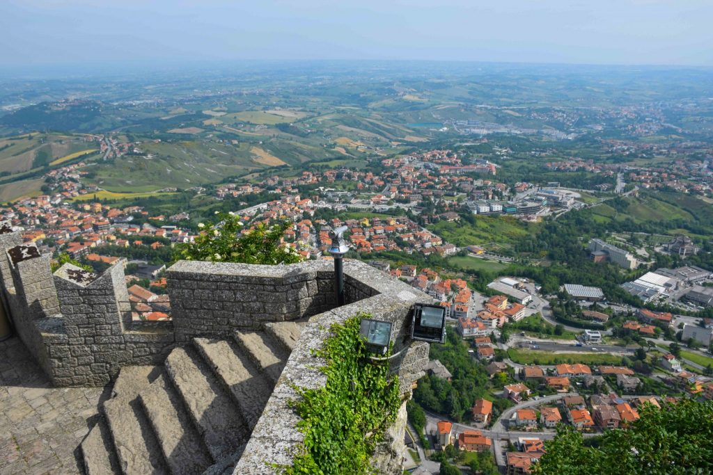 The Republic of San Marino Italys Mountaintop Microstate Round