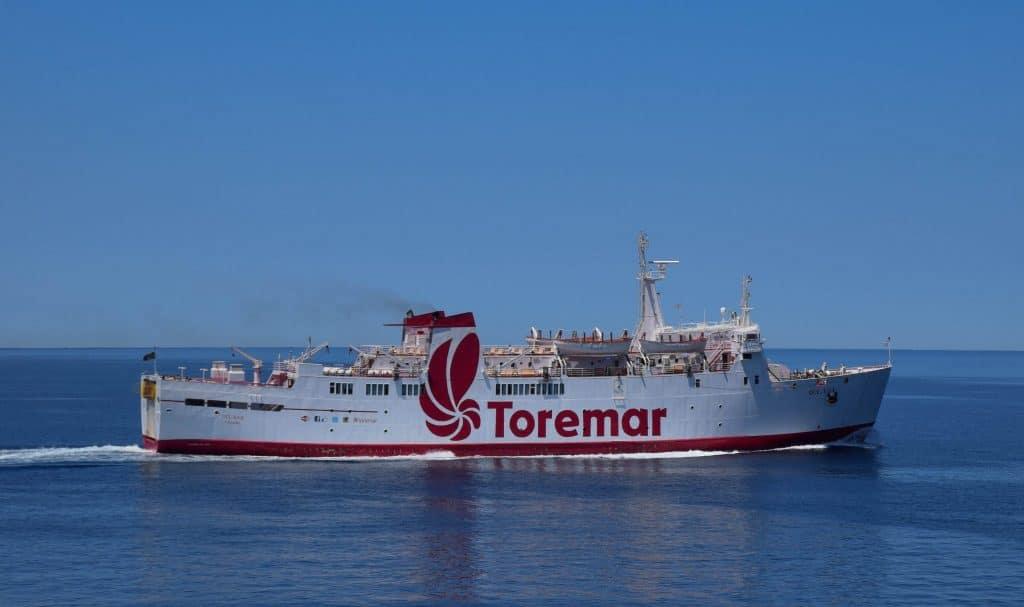 Toremar Ferry Elba Island Italy