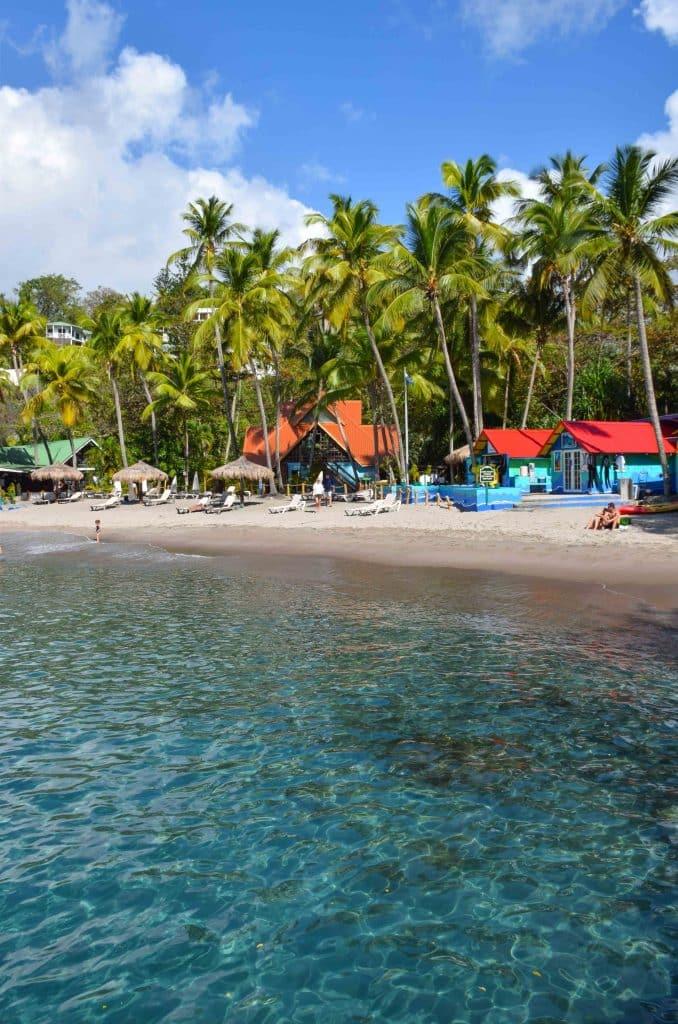 Anse Chastanet Beach Saint Lucia