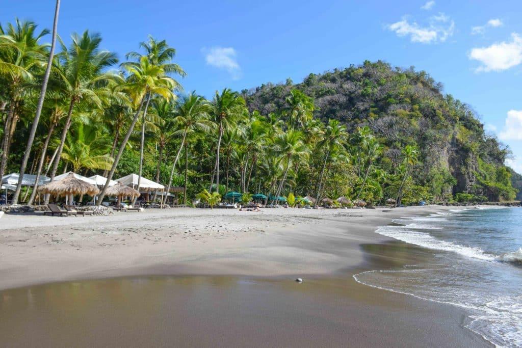 Anse Mamin Beach Saint Lucia