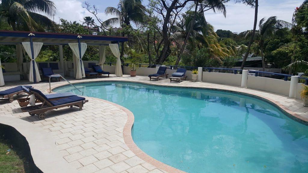 Blue Lagoon Resort Pool St Vincent