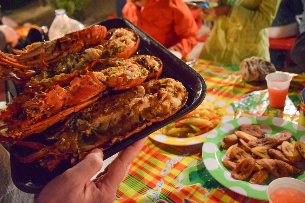 Caribbean Lobster Tobago Cays Grenadines