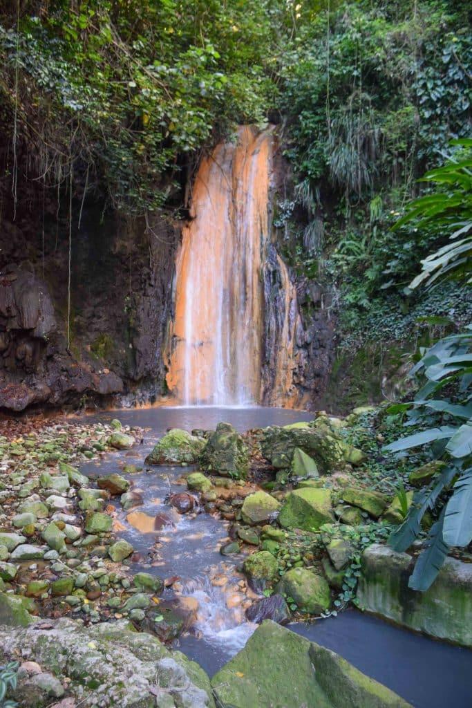 Diamond Waterfall Saint Lucia