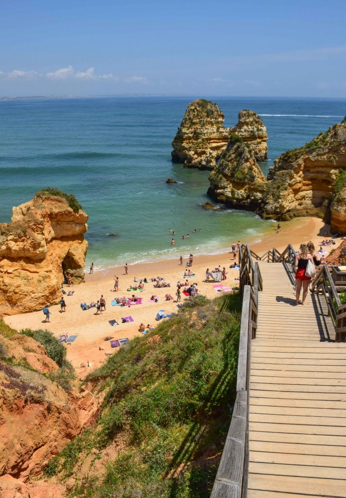 Praia do Camilo Algarve Portugal