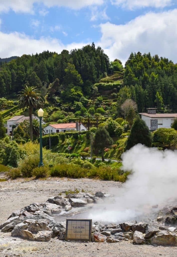 Furnas Azores Portugal