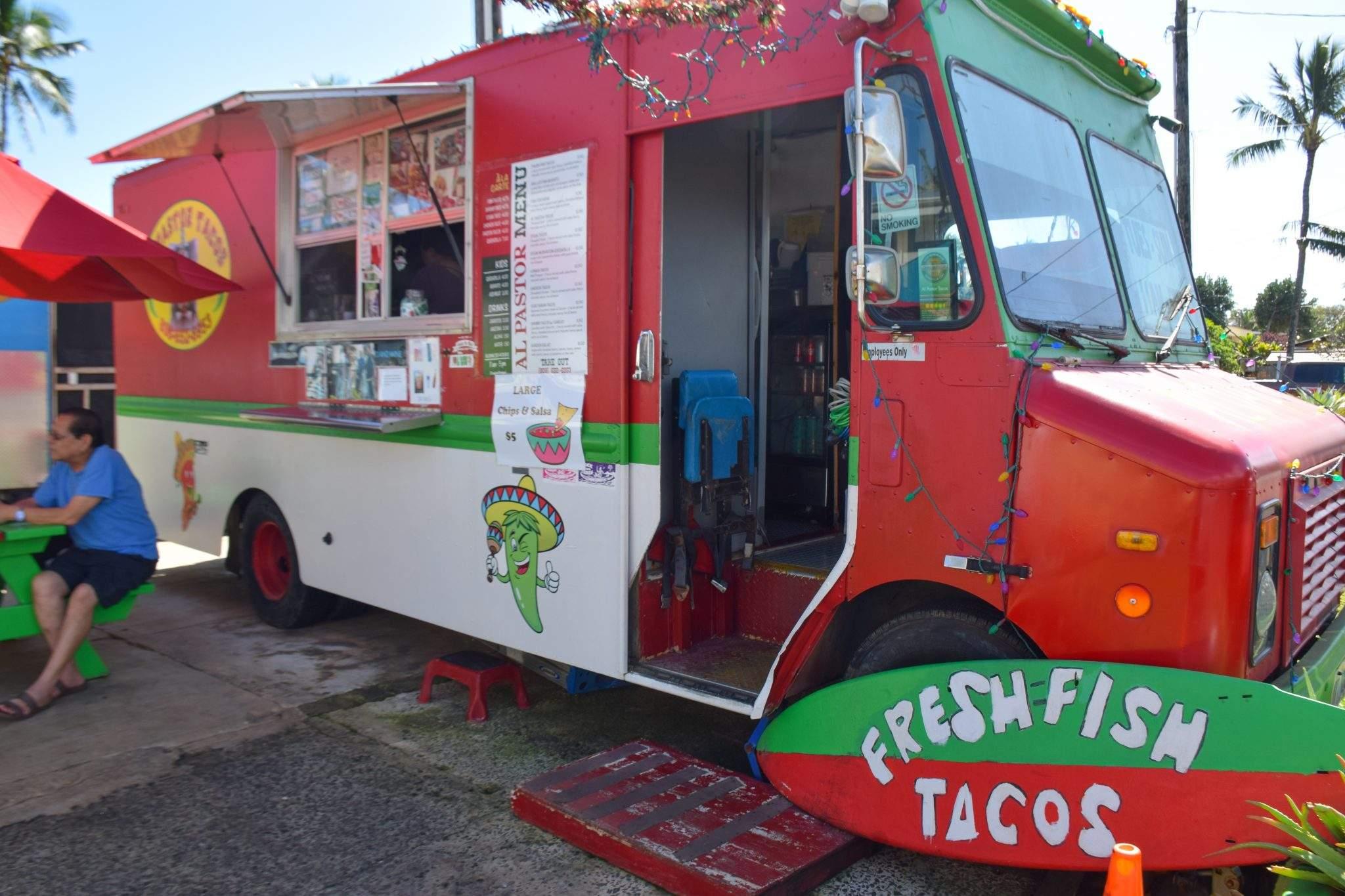 Al Pastor Food Truck Kauai Hawaii