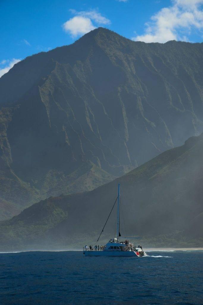Na Pali Coast Kauai Catamaran