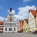 Market Square Rothenburg ob der Tauber Germany
