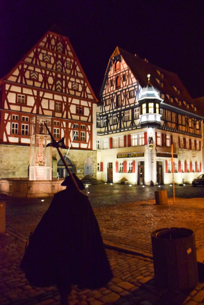 Rothenburg ob der Tauber Germany Night Watchman Tour