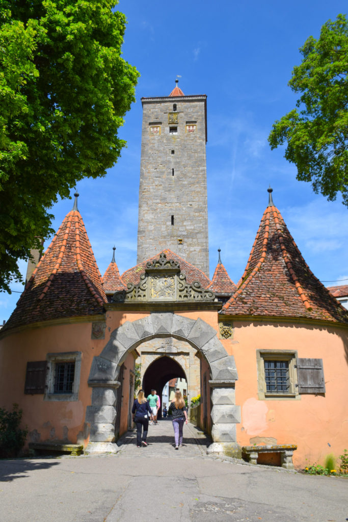 Rothenburg ob der Tauber Castle Gate