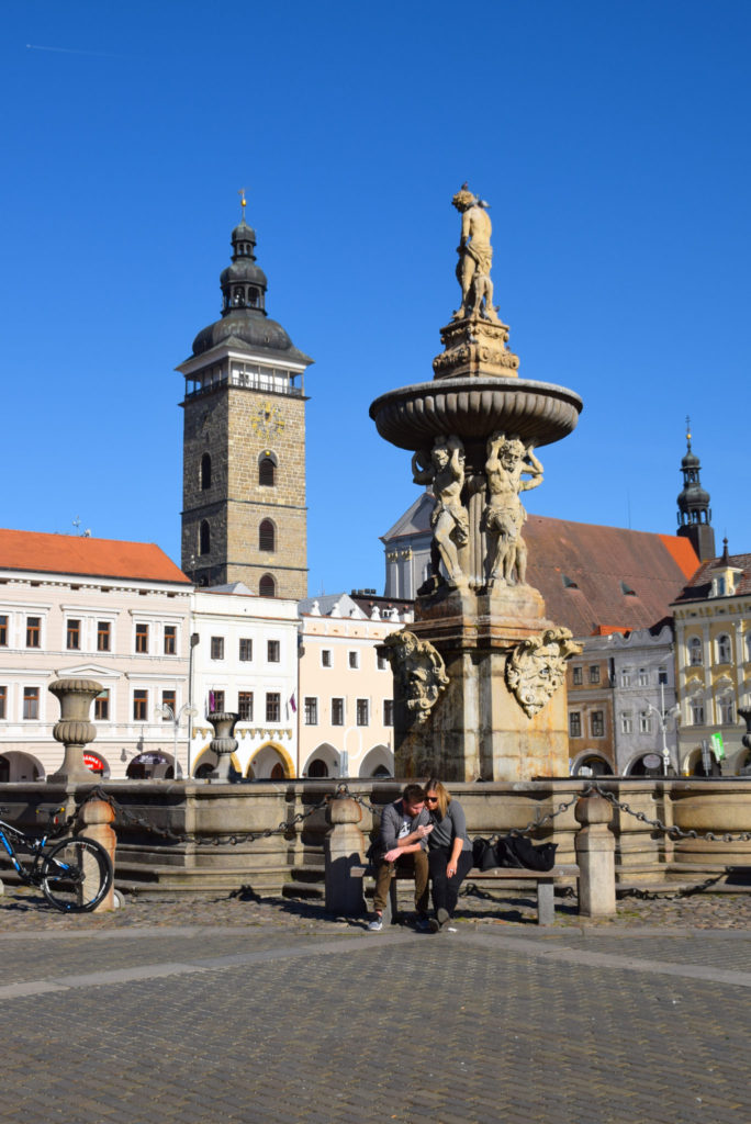 Ceske Budejovice Main Square