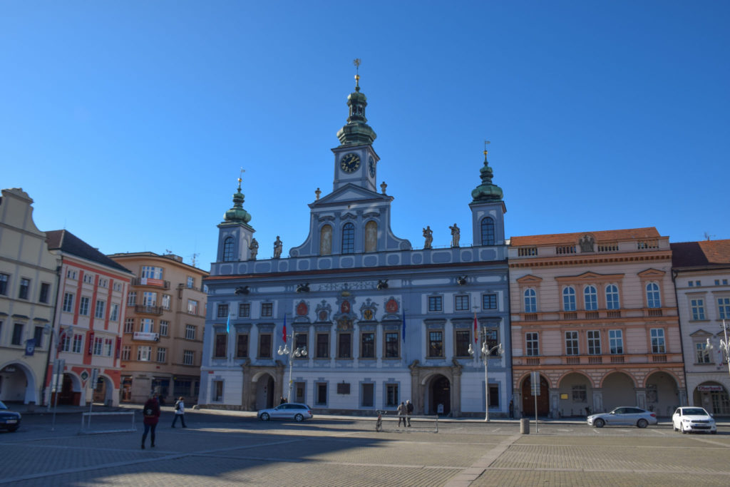Ceske Budejovice Town Hall