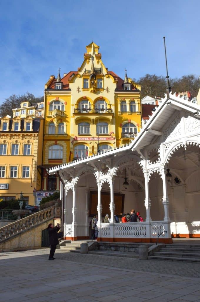 Karlovy Vary Hotel Romance Puskin