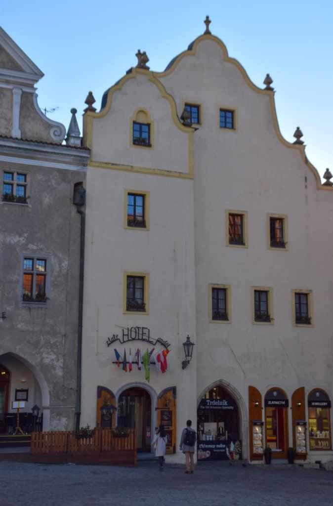 Hotel Zlaty Andel Cesky Krumlov