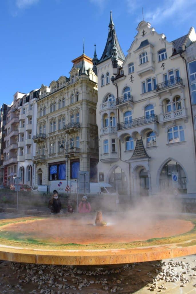 Hot Spring Karlovy Vary Spa