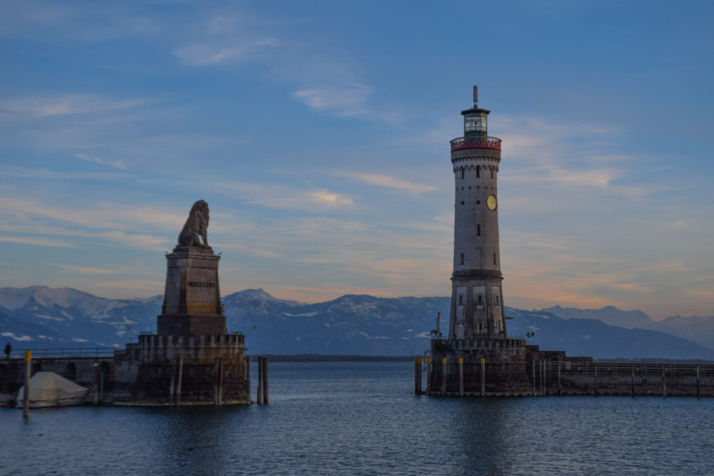 Lindau Harbour Germany