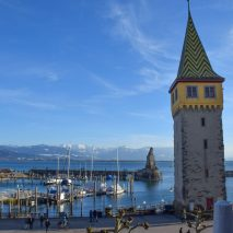 Lovely Lindau Island, Germany