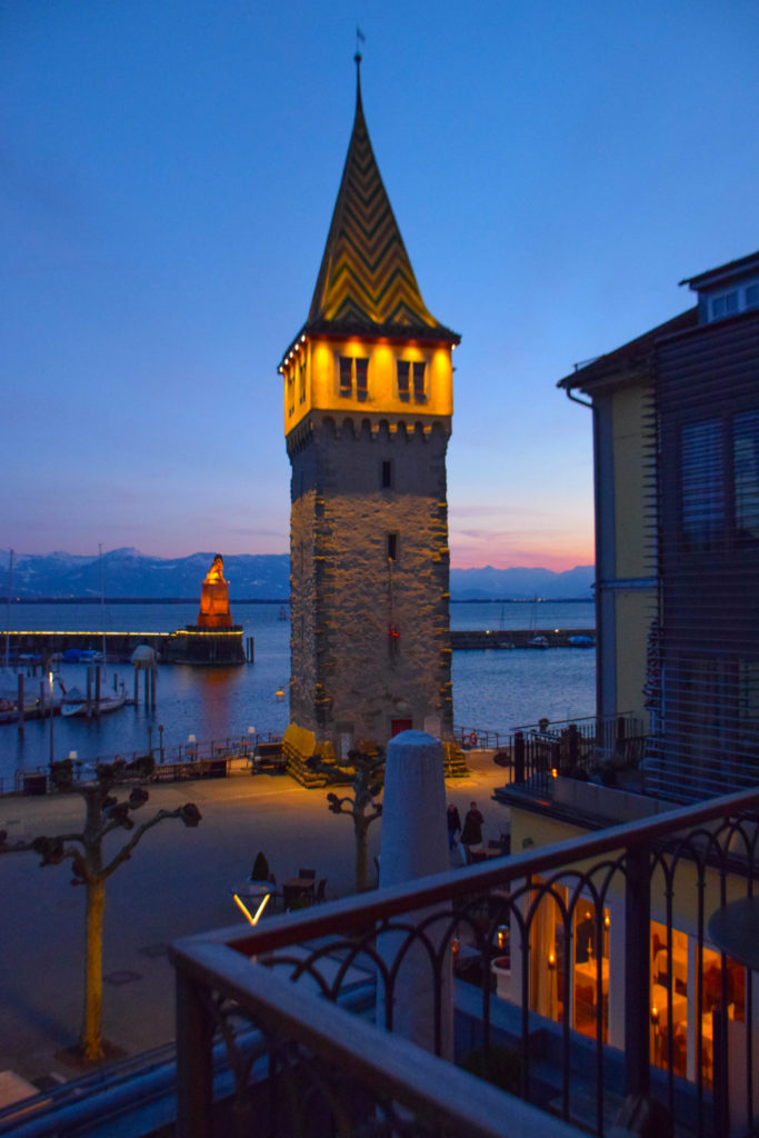 Mangturm Lighthouse Lindau Island Germany