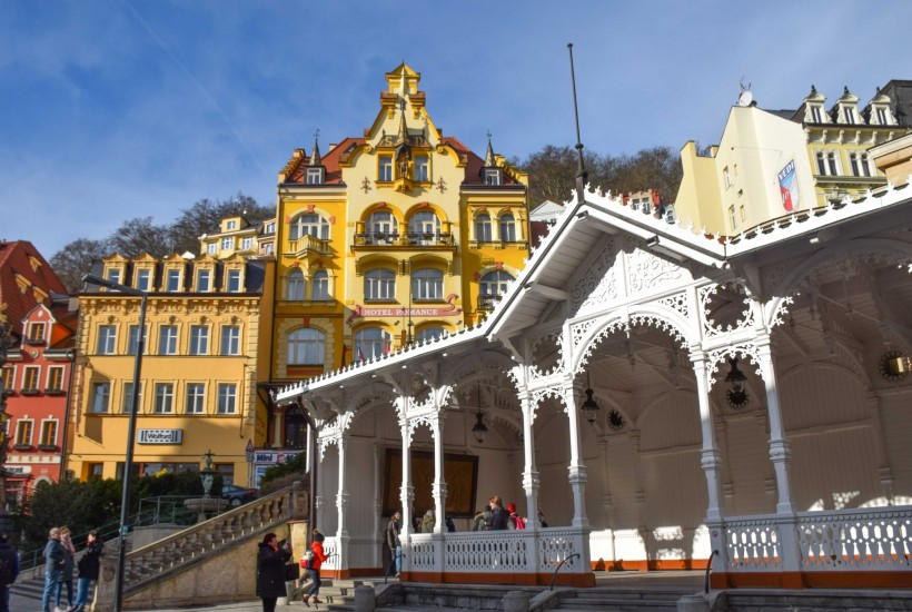 Market Colonnade Karlovy Vary Spa Czech Republic