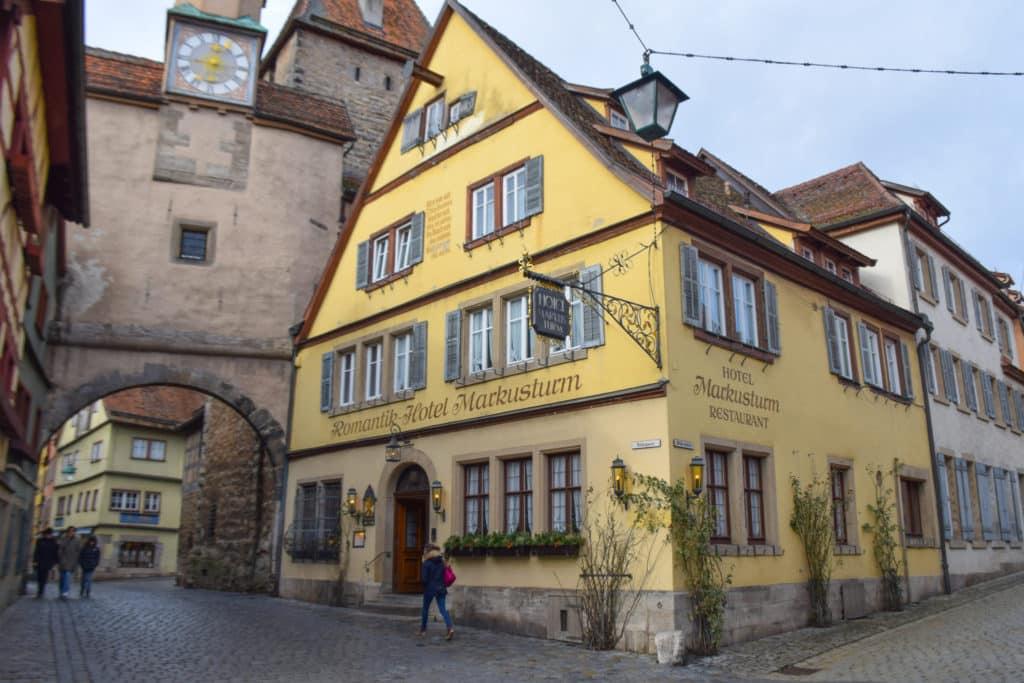Rothenburg ob der Tauber Romantik Hotel Markusturm