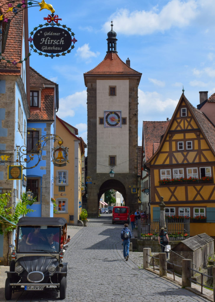 Rothenburg ob der Tauber Plönlein Siebers Tower