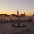 Ceske Budejovice Main Square Czech Republic