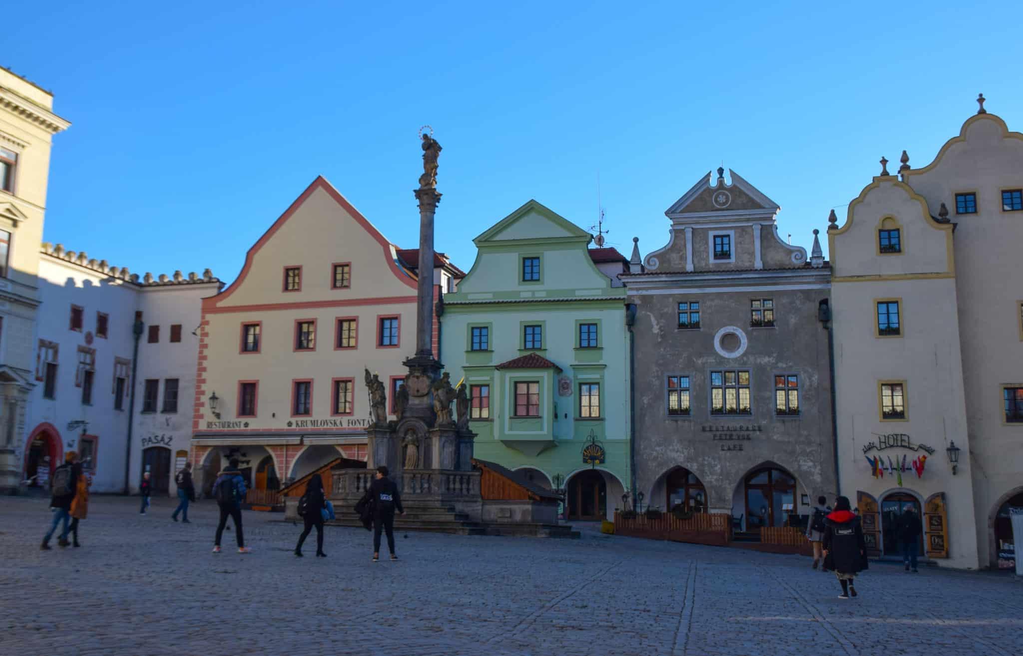 Cesky Krumlov Main Square