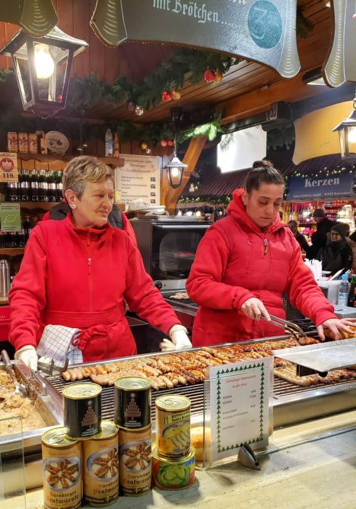 Nuremberg Christmas Market bratwurst